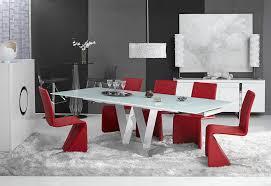 modern extendable dining table bl vanessa modern dining