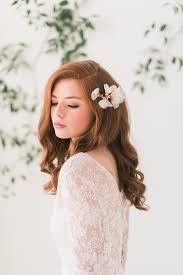 gold headpiece gold floral hair comb style 3006 tessa