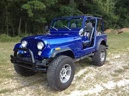 jeep dark blue cj7