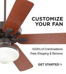Black Ceiling Fan With Light Black Ceiling Fan With Light Kit Ceiling Fans Lamps Plus