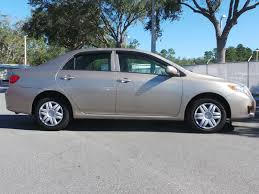 09 toyota corolla le pre owned 2009 toyota corolla le 4dr car in jacksonville p9405a