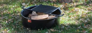 fire pit cooking grate campfire rings series pilot rock