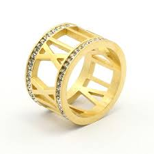 numeral ring gold numeral ring