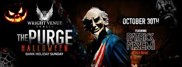 halloween cover photos the purge halloween event the wright venue