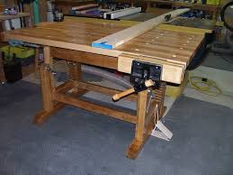 adjustable height workbench by lenny lumberjocks com