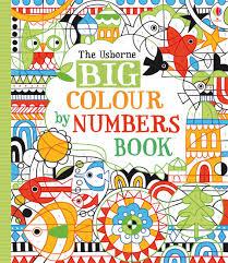 big colour by numbers book u201d at usborne children u0027s books