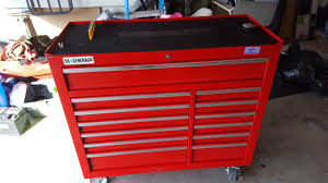 tool box harbor freight 44 toolbox review youtube