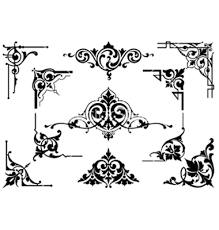 graphics for black corner vector graphics www graphicsbuzz