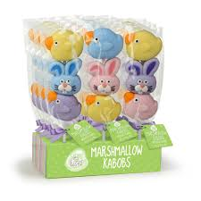easter marshmallow candy easter candy primary colors