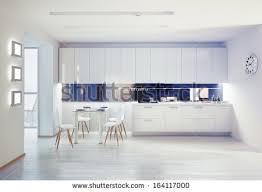 modern kitchen interior cg concept stock photo 190120085