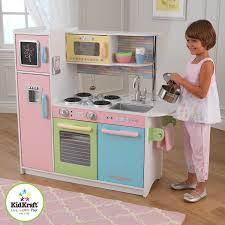 kidkraft küche uptown kidkraft uptown pastel kitchen playset toys