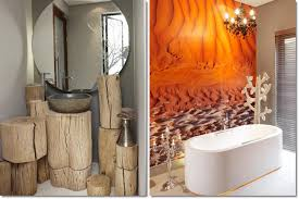 Animal Print Bathroom Ideas by Ideas As Well Rustic Half Bathroom Designs On African Bathroom