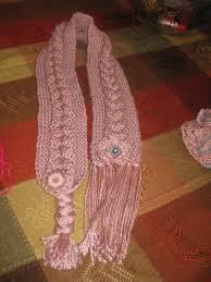 bufandas mis tejidos tejer en navidad manualidades navidenas bufanda mis tejidos y algo mas bufanda y gorro para niña