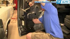 Internal Door Locks How To Install Replace Front Door Lock Actuator Dodge Durango 04