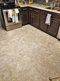 kitchen update luxury vinyl tile lvt