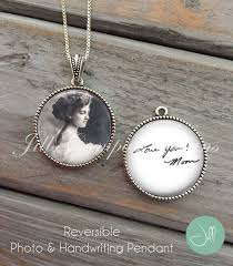 custom handwriting necklace custom handwriting necklace handwriting jewelry custom photo