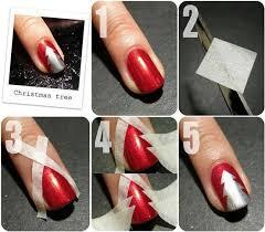 diy christmas nails designs tutorials step by step u2013 inspiring