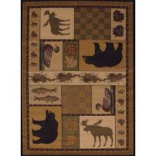Nature Area Rugs Pine Canopy Bighorn Forest Nature Area Rug 7 10 X 10 6 Free