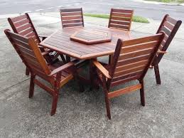 Patio Set 6 Chairs by Furniture Ideas Hexagon Patio Table With Patio Furniture Set And