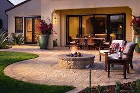 belgard fire pit cost of paver patio with fire pit patio outdoor decoration