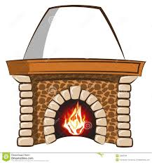 fireplace stock vector image of editable burn bricks 35682304