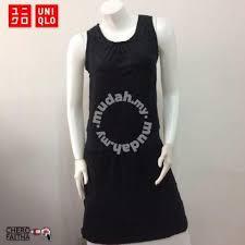 Baju Original uniqlo baju rayon original gown dress sleeveless s clothes for