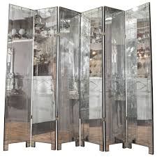 tri fold screen room divider decorating tri fold full length mirror mirrored room divider