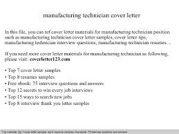 sample technology cover letter technical support cover letter
