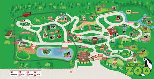 Michigan Adventure Map by Zoo Map Potawatomi Zoo