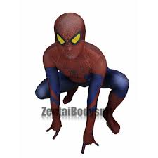 original movie spider man costume the amazing spiderman suit
