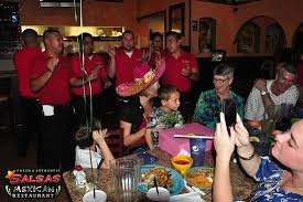 singing happy birthday singing happy birthday panchita picture of salsas mexican
