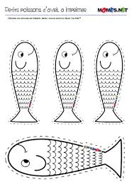 petit poisson d u0027avril à imprimer avril poissons et poisson avril