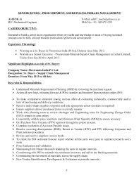 sourcing resume cover letter procurement engineer resumes procurement cover letter free