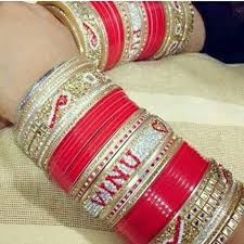 wedding chura with name traditional chura bridal chura with name bangles shahi