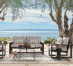 Moroccan Outdoor Rug Frog Drum Accent Tables Pottery Barn