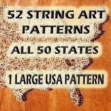 string art patterns 26 block capital letters string art
