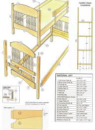 Free Loft Bed Plans Twin by 43 Best Free Bunk Bed Plans Images On Pinterest Bunk Bed Plans