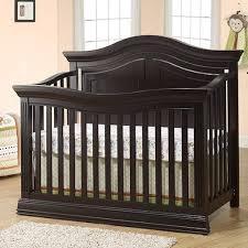 espresso crib and dresser set modern baby cribs nursery furniture