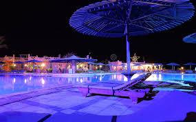 Pool At Night Hotel Swimming Pool At Night Royalty Free Stock Photo Image