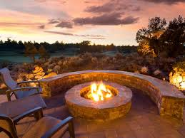 implementation of outdoor fire pit ideas interior design