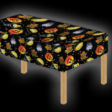 halloween tablecloth davies 11789 halloween party cutie pumpkin witch table cover ebay