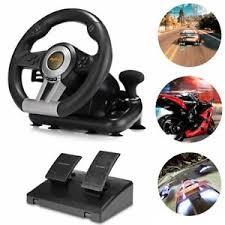 volante per xbox one pxn v3ii gioco di corse volante w frenata pedale per pc ps3 ps4