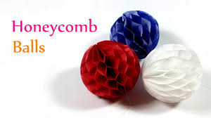 diy crafts honeycomb balls innova crafts youtube