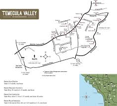 East Los Angeles Map by Temecula Valley Winegrowers Association Winery Map My