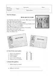 countries and nationalities 1 vocabulary exercise worksheet icon