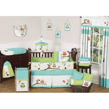 Bedding Set Crib Babyfad Owl Purple 10 Crib Bedding Set Free Shipping Today