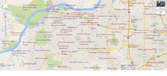 Google Maps Meme Judgmental Map Of St Louis The St Louis Egotist