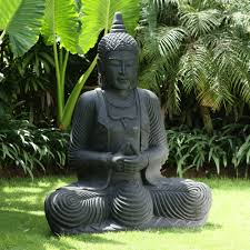 praying thai buddha sculpture large garden statue buy now