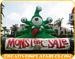 sale sign inflatables