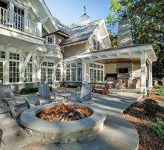 Stone Patio With Fire Pit Category Pool Ideas Home Bunch U2013 Interior Design Ideas